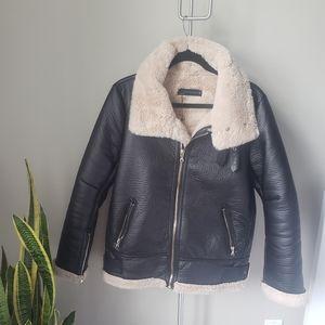 NWOT Zara Women's Motorstyle Jacket